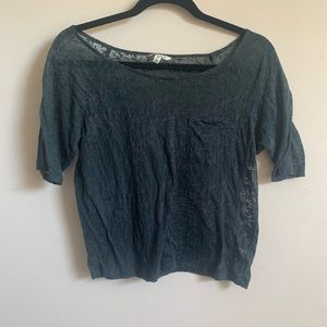 Tops - 5/25 distressed t shirt